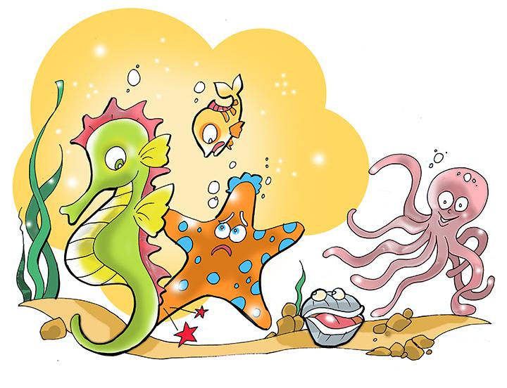 deniz yıldızı, deniz atı