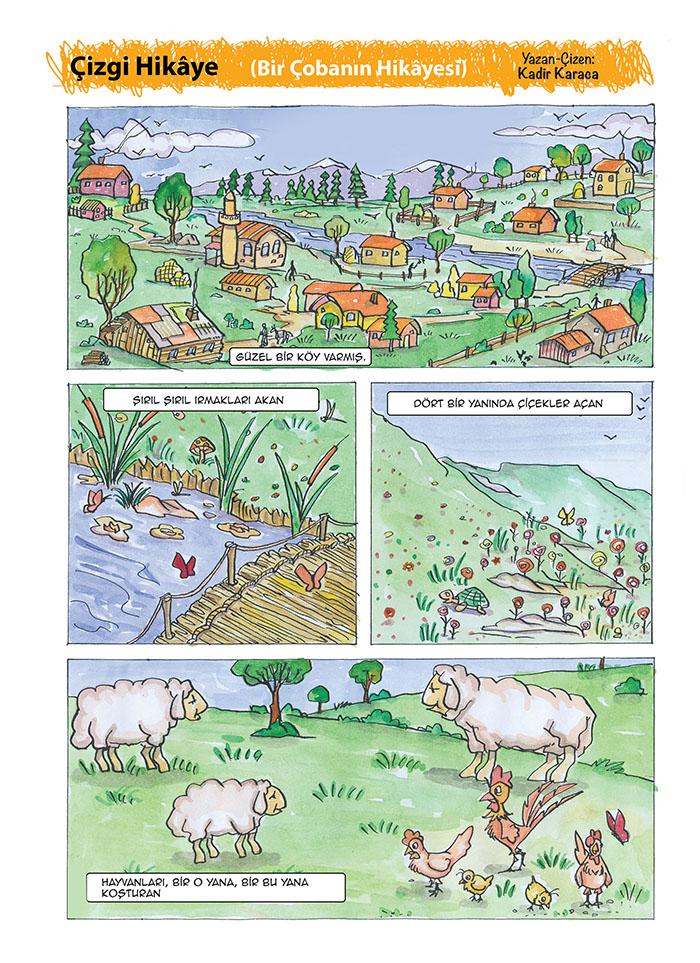 Çizgi Hikâye (Bir Çobanın Hikâyesi)