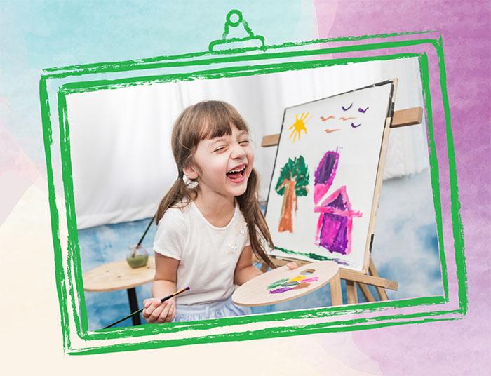 Çocuklara Özel Sanat Atölyeleri