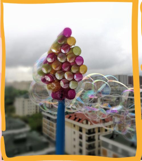 Rengarenk Neşeli Baloncuklar