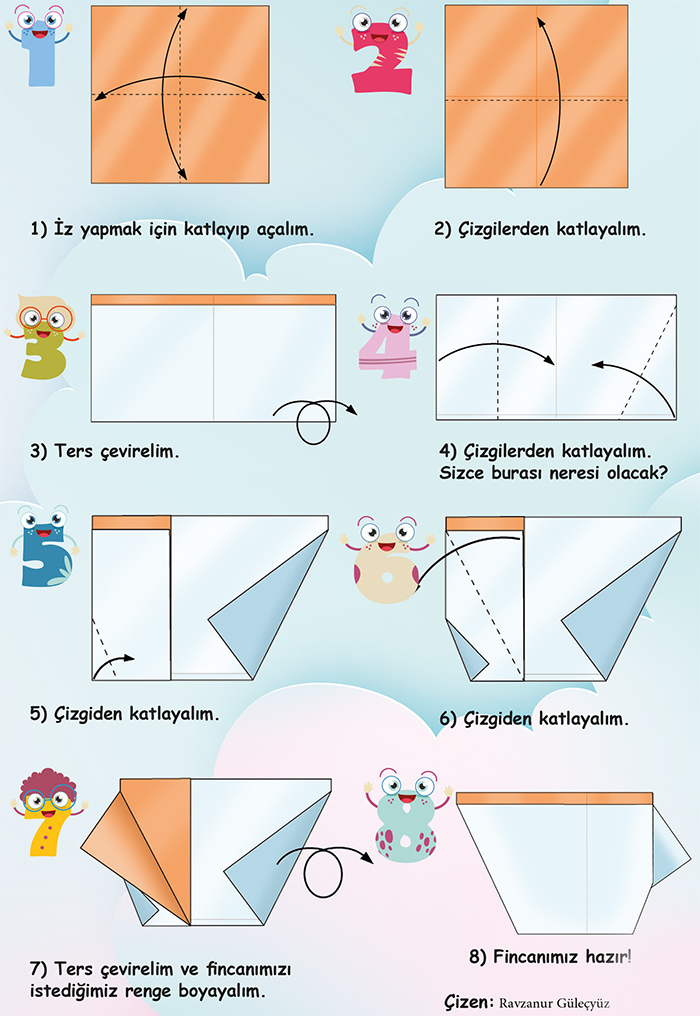 fincan origami