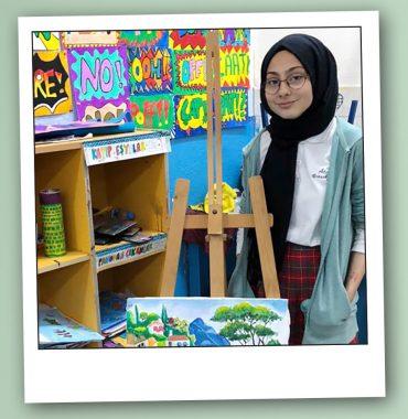 """Genç yetenek Ayşenaz diyor ki: """"Geleceğin bilim insanı ve sanatçısı olmak istiyorum"""""""