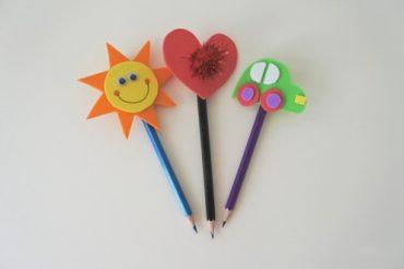 Rengârenk kalem süsü yapalım mı?