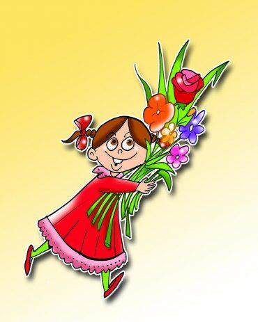 Gül çiçek öğretmenim