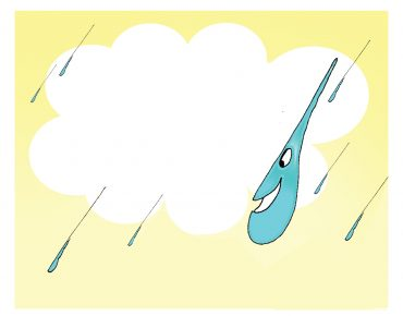 Yağmur damlasının yolculuğu